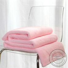 king size wholesale 100% wool blue/green/white matts printed blanket
