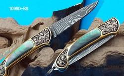 sharp brand damascus knives