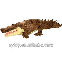 Custom fashion stuffed marine life plush toy cute crocodile