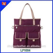 2014 hot selling multi-function waterproof lady tote bag
