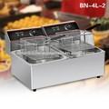 KFC 튀김 닭 기계: 테이블 상단 트윈 bn-4l-2 냄비