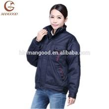 New design padded high quality warm winter work uniform coat
