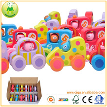 Wooden Car Toy Wodi Mini Car Wooden Educational Toys for kids