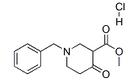 Methyl 1-benzyl-4-oxo-3-piperidine-carboxylate hydrochl