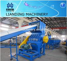 Superior quality plastic film crushing washing drying machine