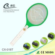 Solar pest control type kill mosquito swatter