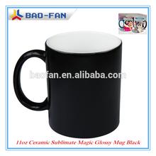 Sublimation Blank Mug 11oz Blank Sublimation Mug Color Changing Sublimation Ceramic Glassy Mug