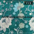 marruecos chenille jacquard floral tela de los muebles