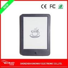 "New Touchscreen WIFI 6"" e-book reader display panel, e-ink panel"