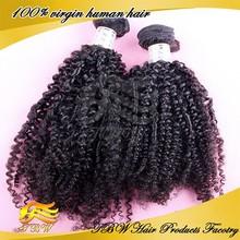 Grade 6A Full Cuticle 100% Unprocessed Virgin Russian Kinky Curly full fix hair