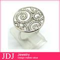 Fábrica directamente venta al por mayor de bisutería indio anillo de plata