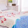 king size wholesale 100% organic cotton dip dye sweater knit sofa blanket throws