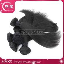 Unprocessed 100% Cheap Virgin Straight Hair