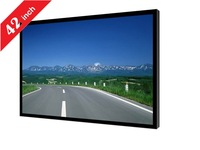 42inch wireless touch monitor windows os HD wall mount lcd digital display advertising