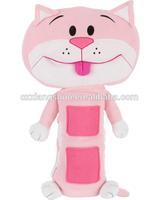 Seat Pets Pink Cat Car Plush Pillow Belt -As Seen On TV -Plush Toy