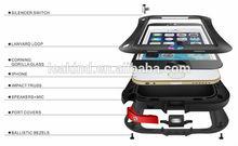 for iphone 6 waterproof gorilla metal case,4.7 inch cell phone heavy duty waterproof metal case