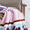 Woven high quality coral fleece rescue blankets
