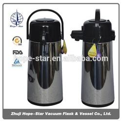 2.5L ss jug water flask vacuum flask air pot
