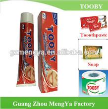 TOOBY Brand cheaper price toothpaste darlie 60 g 160g