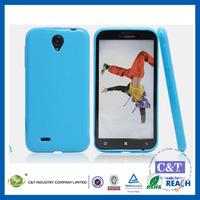 C&T Soft gel rubber tpu ultra slim case cover for lenovo a850