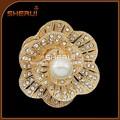 diamantes de imitación de la perla broche de la invitación de la boda