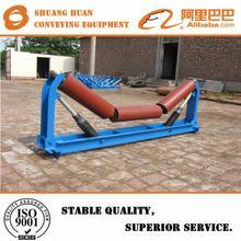 impact idler roller set for belt conveyor design impact conveyor idler roller set export toTunisia Pakistan