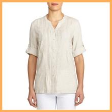 elegant linen kurta for women