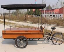 three wheel electric mobil food cart hot dog
