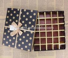 Custom Luxury Cardboard Paper Gift Packaging Chocolate Box