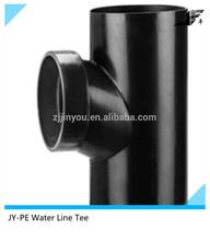 Same-floor PE Water Line Tee