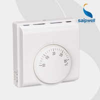 Saipwell split air-conditioner thermostat room thermomet room thermostat for fan coil with low price