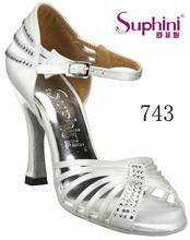 Ladies Belly Shoes Luxury White Pears Dacing Sandal , Bridal Wedding Shoes White