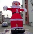 2014inflable al aire libre figuras de navidad de santa claus