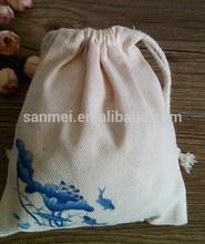 soft cotton golf ball pouch