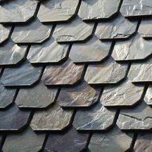 surface split roof slate stone tile