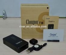 Crazy Christmas Gift -- shenzhen cloupor technology cloupor t8 150w mod box mod with 30 day money back guarantee