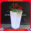 Pasteles de boda con fuentes de la fábrica llevó el pote de flor para el jardín decoración de boda con fuentes de la fábrica