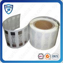Hot sell epc gen2 Printable UHF RFID H3 Labels for Asset ,rice,Flour Fertilizer warehouse management