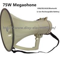 75W Police megaphone With USB/SD/AUX/Bluetooth