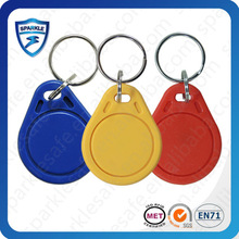 Hot sell rfid abs printable 125khz rfid keytags