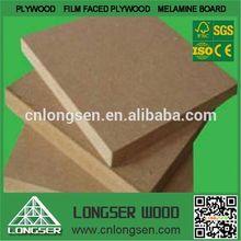 wood grain melmaine faced mdf prices