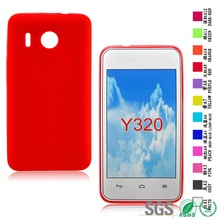 Soft phone cover factory cell phone case for Huawei Y320