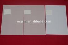 hot sale inkjet A4 size white color printable pvc card/white pvc sheet