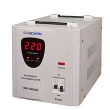 Full Automatic Ac Voltage Stabilizer 30Kw, electronic voltage regulators for lift/elevator/home appliance, voltage regulator