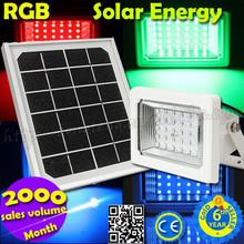 2015 Hot Selling Wholesale Outdoor RGB Garden Solar Light for Garden