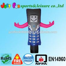 advertising inflatable air dancer,phone type air dancer for sale,cheap air dancer