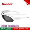 2014 bluetooth inteligentes gafas de sol reproductor de mp3 para el conductor