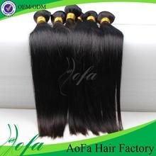 Best quality natural length 18 inch unprocessed cheap human virgin peruvian hair