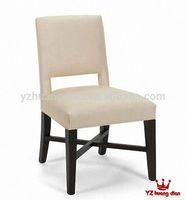 Modern cheap white dinner chair/booth for restaurant YA126