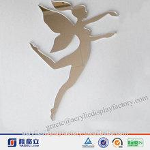 Cute Design!!!Factory Manufacturing Custom Modern Stylish Acrylic Fairy Mirror